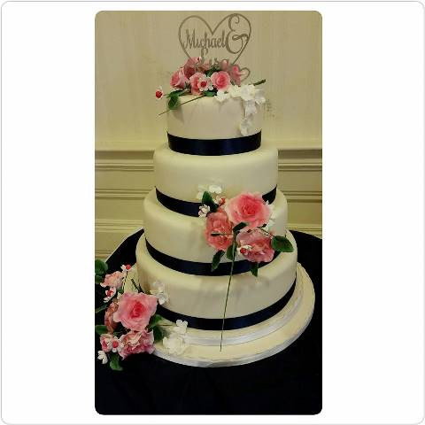 4_tier_round_wedding_cake